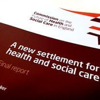 Barker calls for joint NHS/care funding