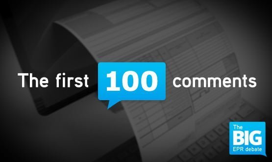 The Big EPR Debate: the first 100 comments