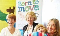 Kent babies are 'born to move'