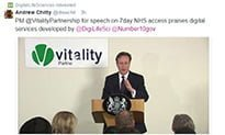 Tech part of 7-day NHS – Cameron