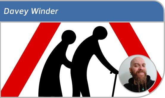 Davey Winder: older does not mean wiser