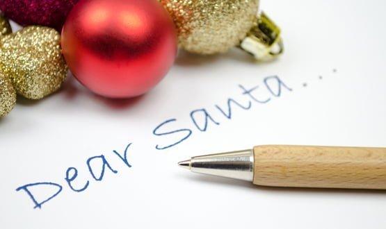 Enter the CCG: Dear Santa