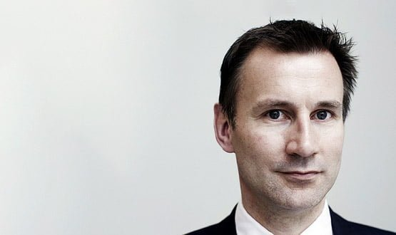 "Hunt says technology will create ""patient power decade"" in NHS"
