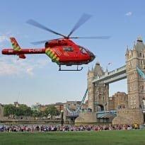 London air ambulance launches app