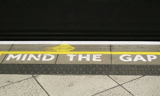 Another view: mind the gap