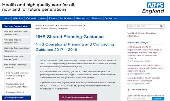 NHS 'to do' list puts IT and funding focus on STPs