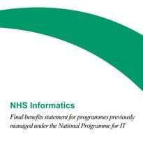 DH reveals final NPfIT benefits