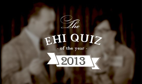 It's the answers to the quiz of the year, 2013!