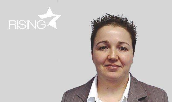 Rising star: Angela Partington