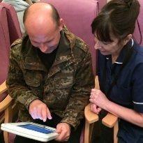 iPad forms capture Rheumatic data