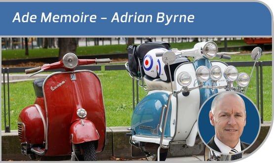 Ade Memoire: all mod cons