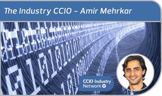 The industry CCIO: Amir Mehrkar