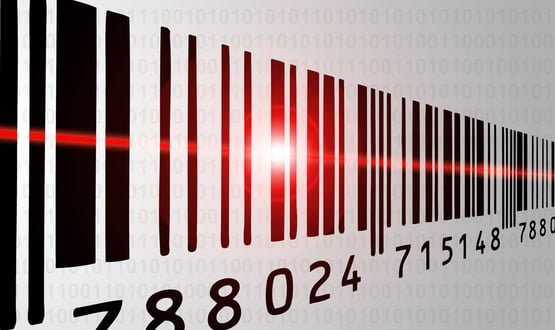 A Scan4Safety barcode