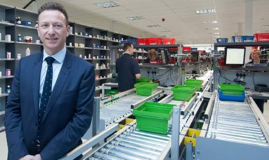 Pharmacy2U unveils massive prescription centre in Leeds