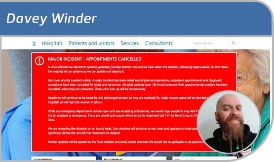 Davey Winder: ransomware, it's over here