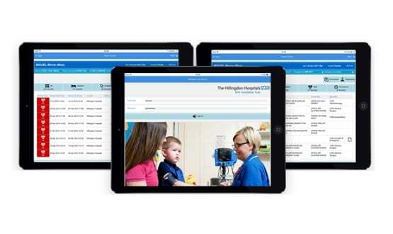 Hillingdon Hospitals develops care record app