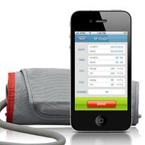 iPhone blood pressure monitor launched