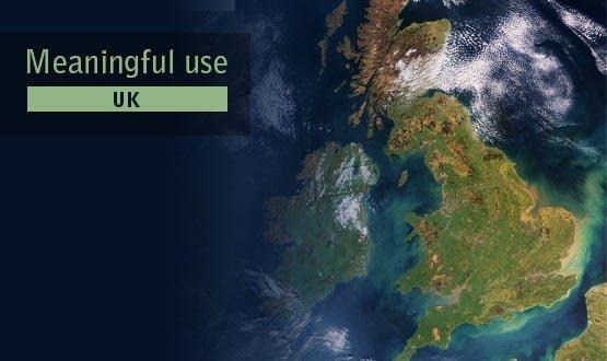 Meaningful use, UK