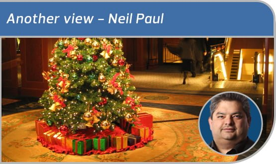 Another view: of Christmas presents and future