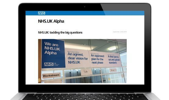 NHS.uk: 'digital hub' plans progress