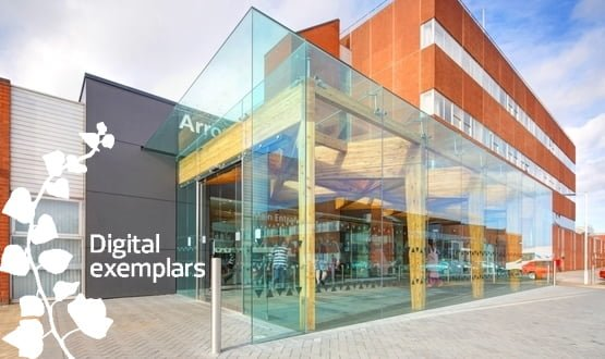 Global digital exemplars waiting on central cash