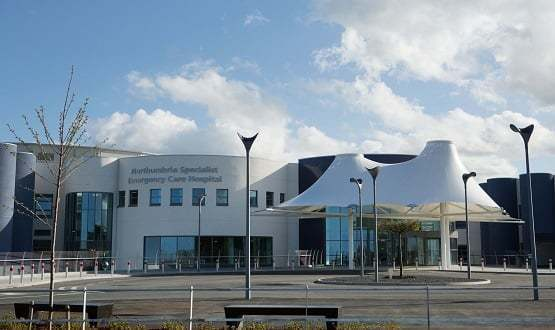 The Northumbria hospital at Cramlington