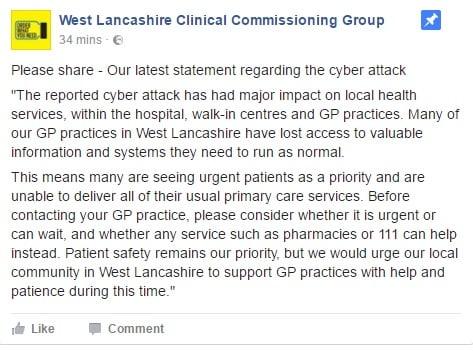 West Lancashire CCG