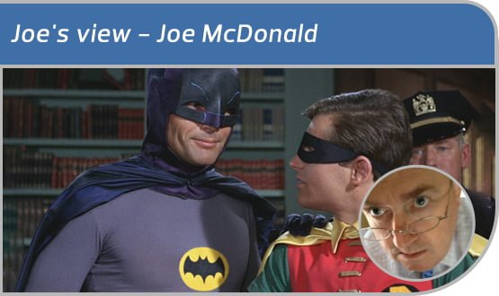 Joe's view: On the need for a Bat Signal