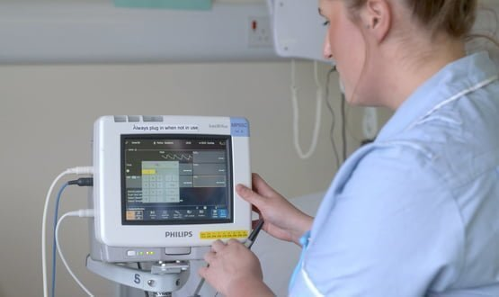 Philips' new patient monitoring system deployed in London
