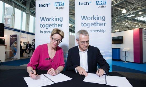 NHS Digital and techUK enter into a strategic partnership