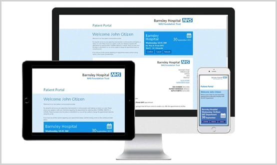 Barnsley's digital letters reduce missed appointments