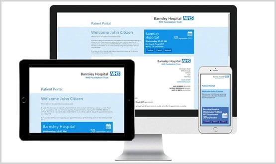 Portsmouth introduces new digital communication patient portal