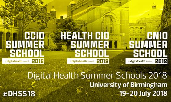 Digital Health Summer Schools 2018