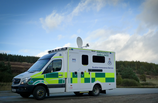 Scotland connects ambulances to satellites for better pre-hospital care