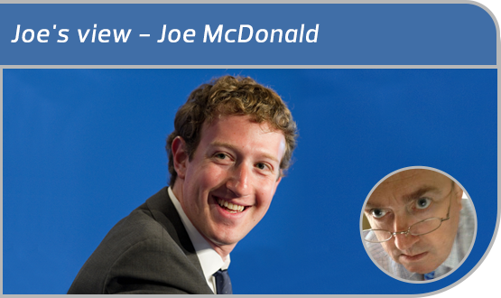 Joe's view - Mark Zuckerberg