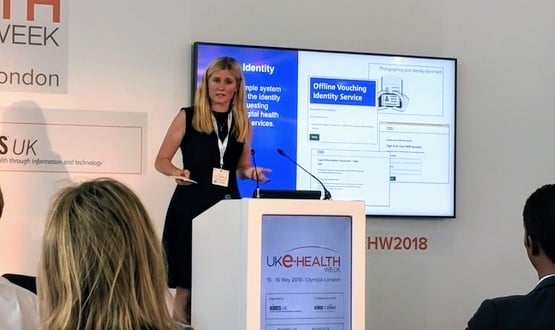Juliet Bauer speaks at UK eHealth Week in London on 16 May