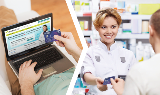 Online doctor solution for pharmacies