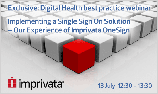 Webinar: Implementing a Single Sign On Solution – Our Experience of Imprivata OneSign