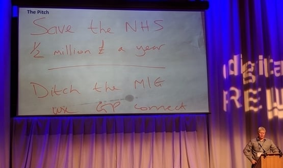 Winners of Summer Schools NHS Hack Day aim to replace MIG