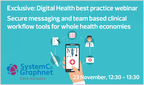 Webinar: Secure messaging and team based clinical workflow tools for whole health economies