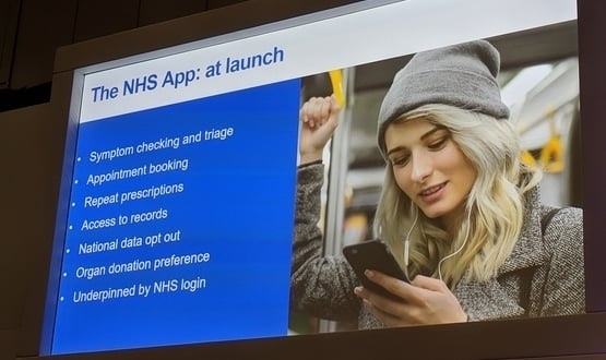 The NHS app will offer a range of features at launch, so claims NHS England