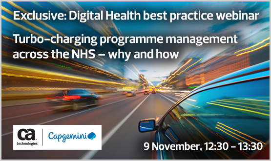 Webinar: Turbo-charging programme management across the NHS – why and how