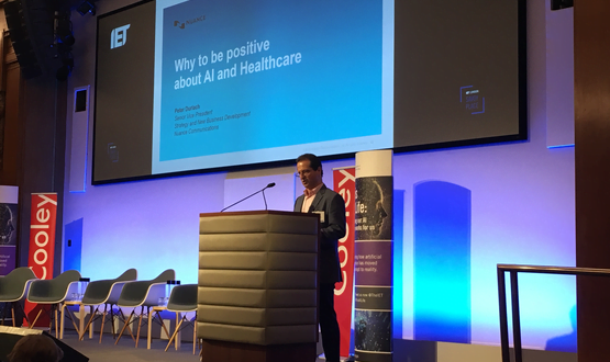 AI could 'make a difference to healthcare' but patient trust is key