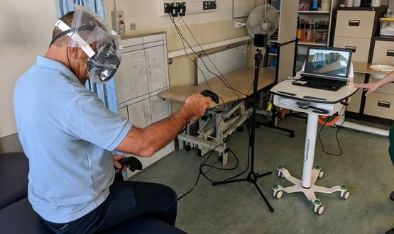 Virtual reality for stroke patients one step closer thanks to £400k funding
