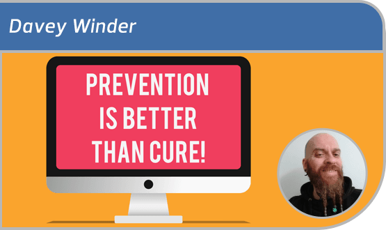 Davey Winder - Prevention