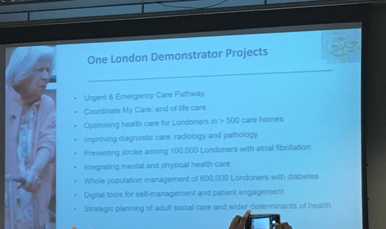Nine demonstrator projects to be established as part of One London