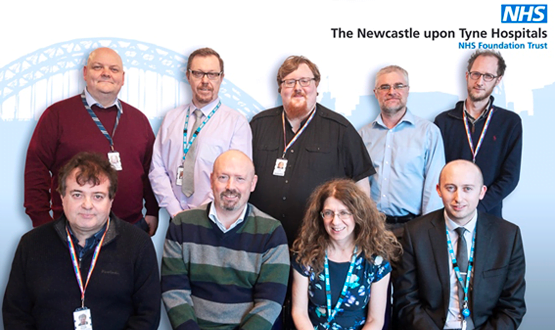 IT experts from Newcastle Hospitals shortlisted for Unsung Hero award