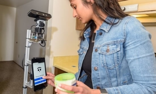 First care robot linked to smart homes tested for dementia patients
