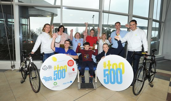 Children's charity launches cycling event to raise £500k for innovation