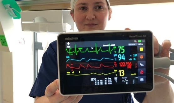 Digital monitoring system combines patient's vitals in Salford theatres